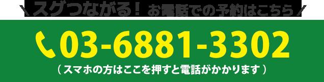 電話番号:03-6881-3302