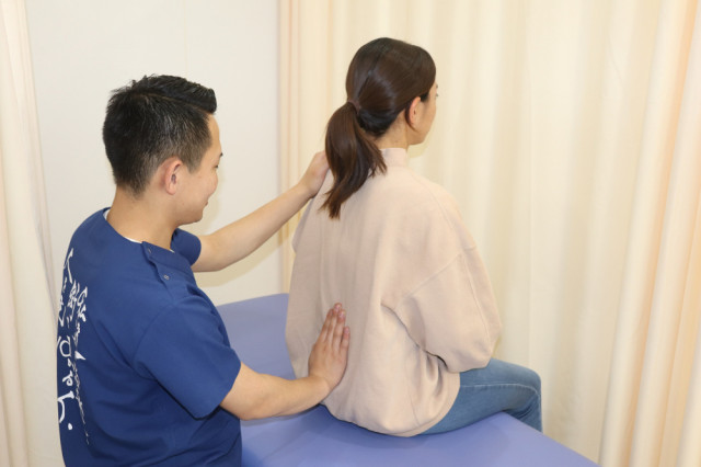 腰痛の写真